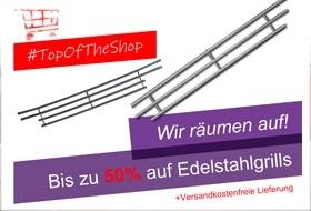 TOP OF THE SHOP - Grills bis zu 50%