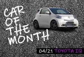 Fahrzeug des Monats April