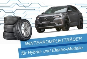 Winterräder für Elektro- & Hybridmodelle