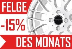 FELGE DES MONATS