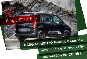 TOP OF THE SHOP - Cargo-Paket
