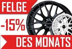 FELGE DES MONATS 11/18
