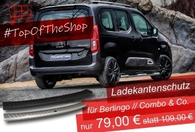 TOP OF THE SHOP - Ladekantenschutz