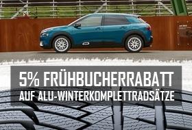 5% FRÜHBUCHERRABATT