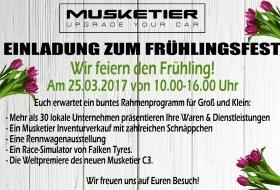 Musketier Frühlingsfest am 25.03.2017