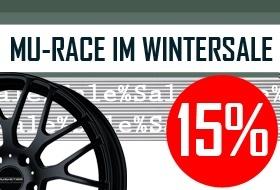 MU-RACE IM WINTERSALE
