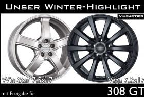 WINTERKOMPLETTRÄDER für 308 GT